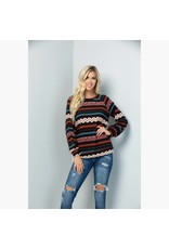 Sweet Lovely by Jen Aztec Top
