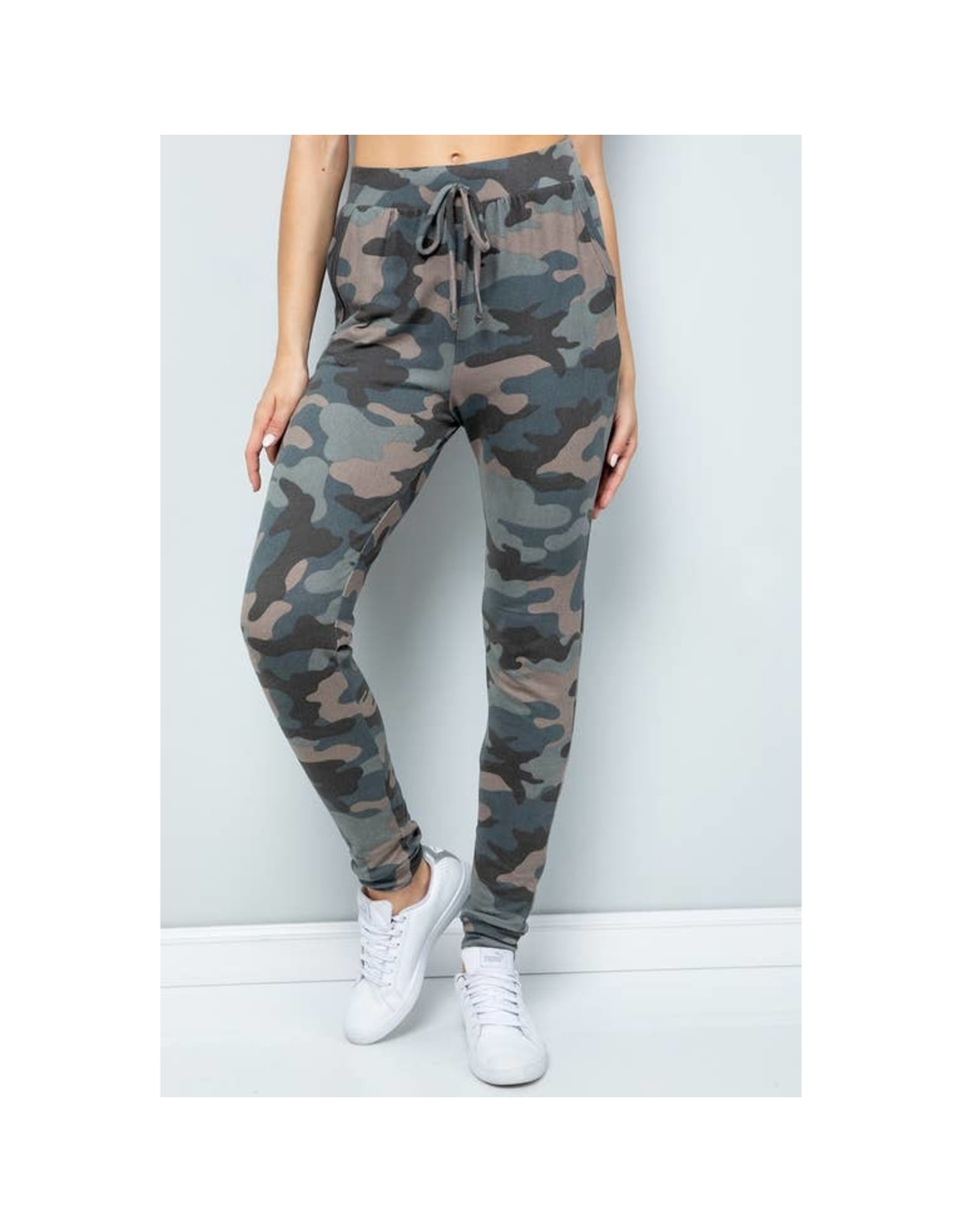 Sweet Lovely by Jen Camouflage Joggers