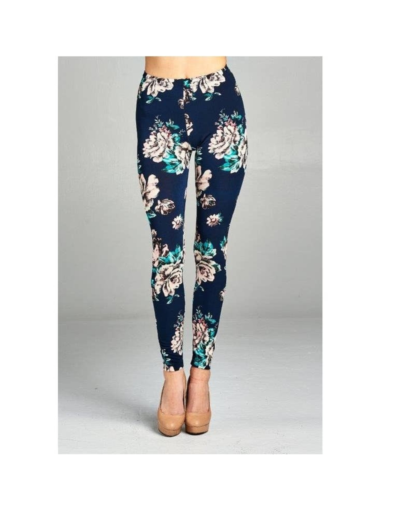 LKLUV Floral Leggings