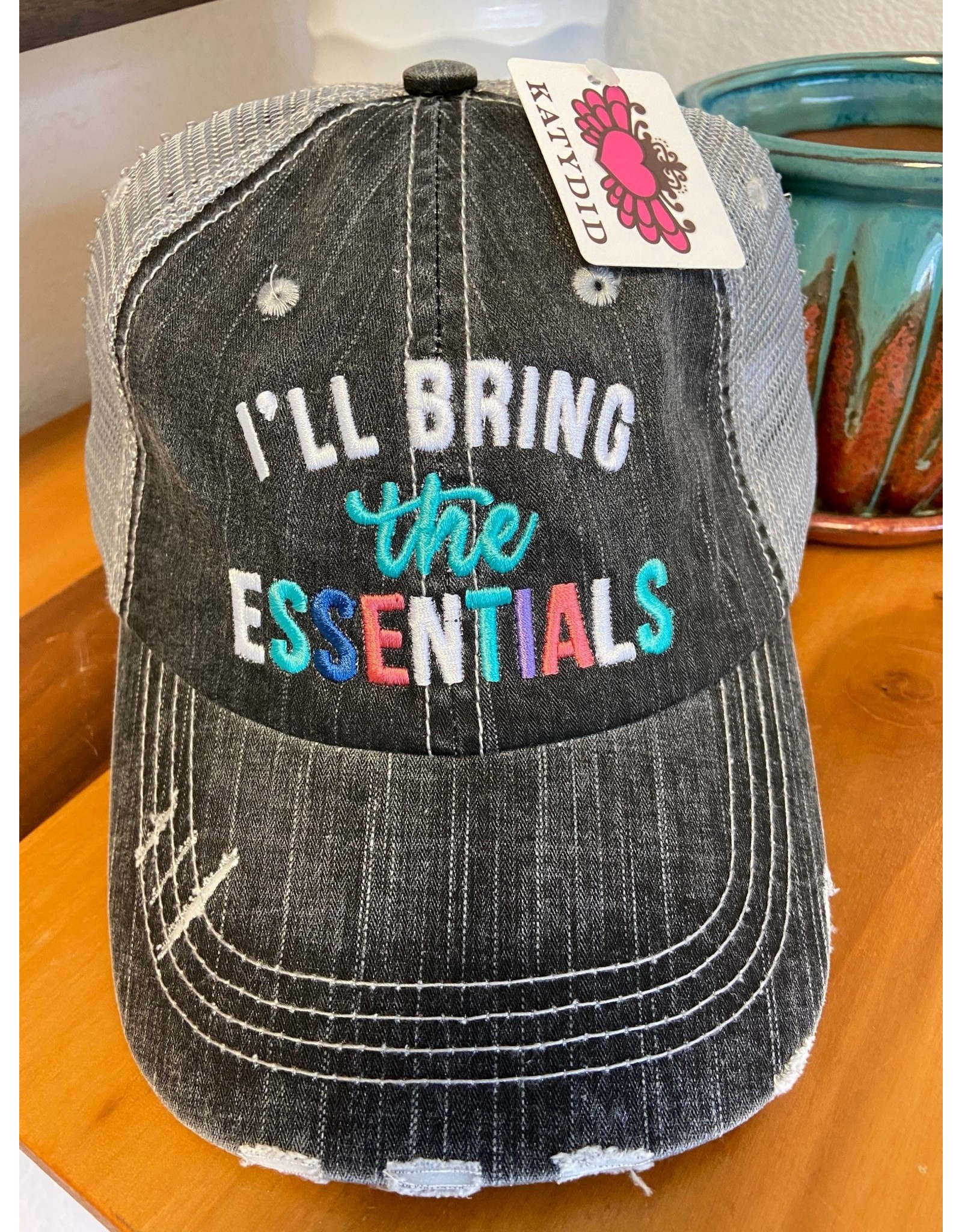 Katydid Trucker Hat I'll Bring