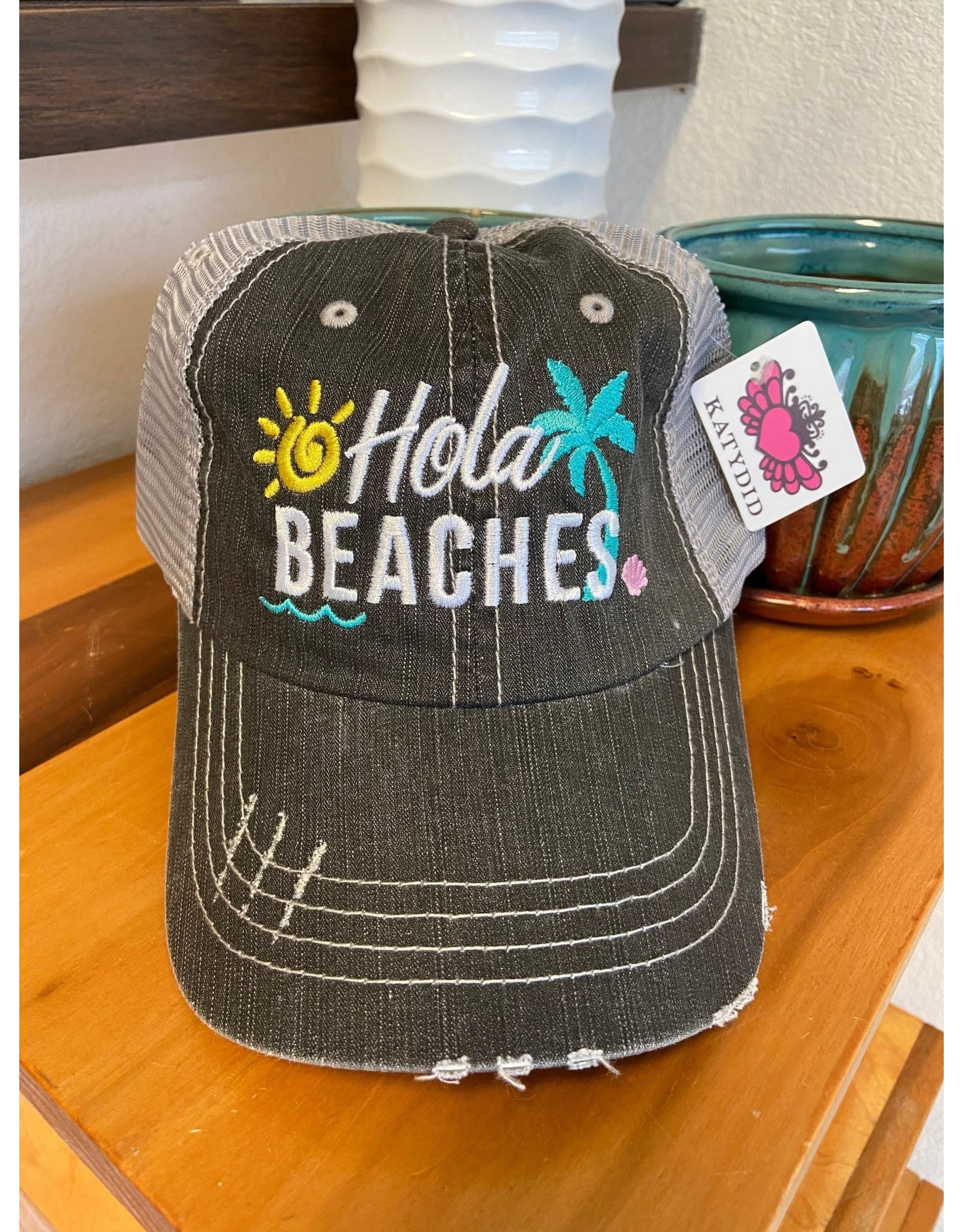 Katydid Trucker Hat- Hola Beaches