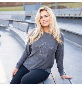 Mary Square Dramatic Sweatshirt