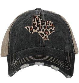 Katydid Hat- Leopard Texas State