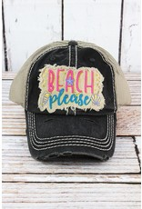 Katydid Hat-Beach Please Blk