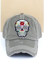 Sugar Skull Cap
