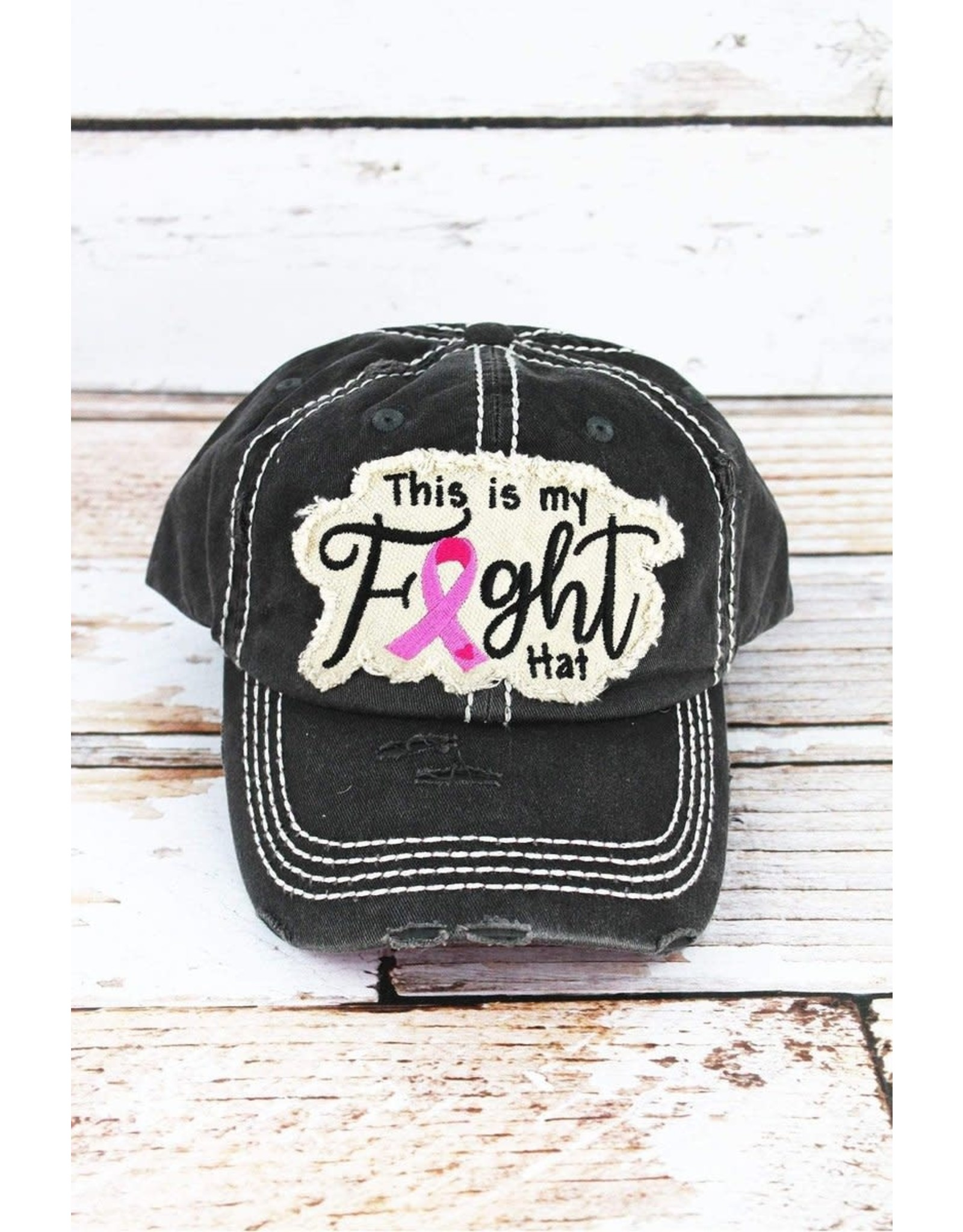 This is my Fight Breast Cancer Cap