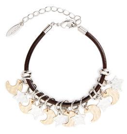 Demdaco Moon Stars Giving Bracelet