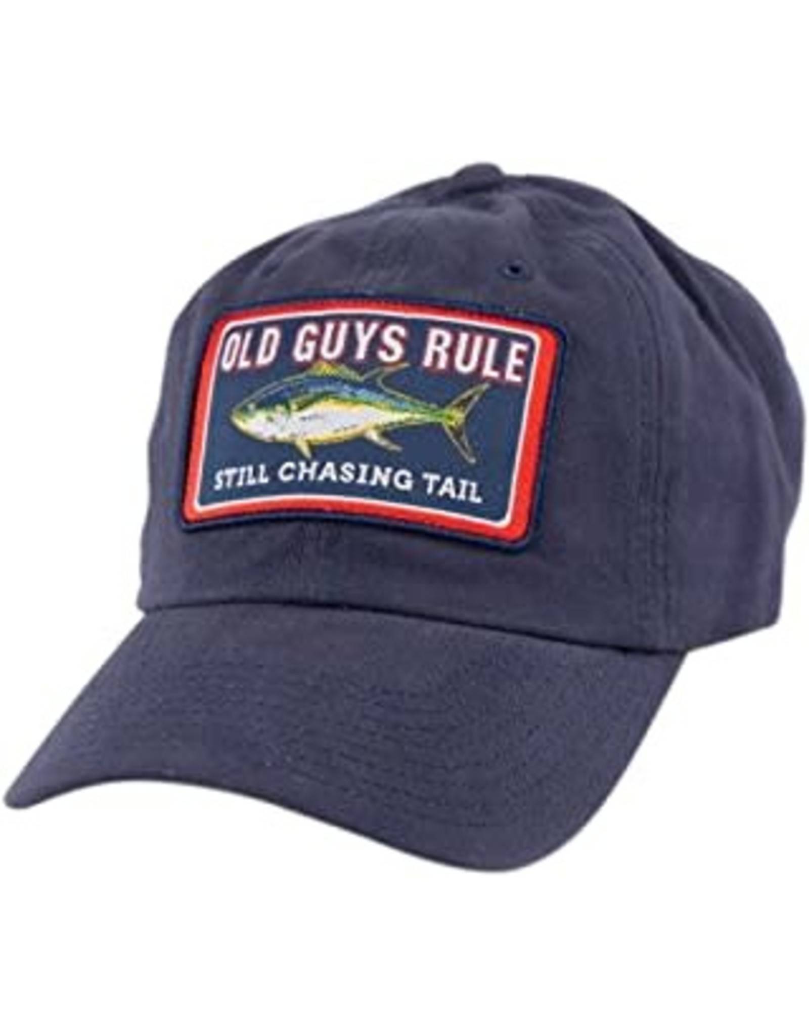 Old Guys Rule Hat- OG Chasing Tail