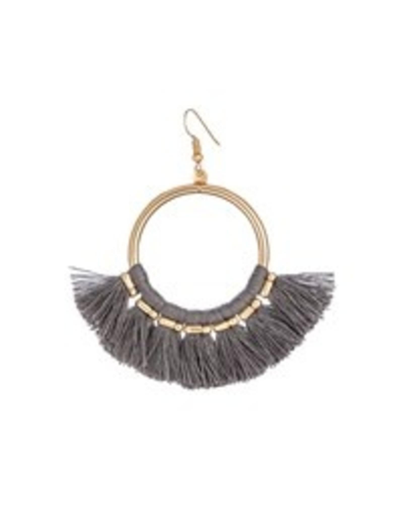 Evergreen Cha Cha Fringe Earrings