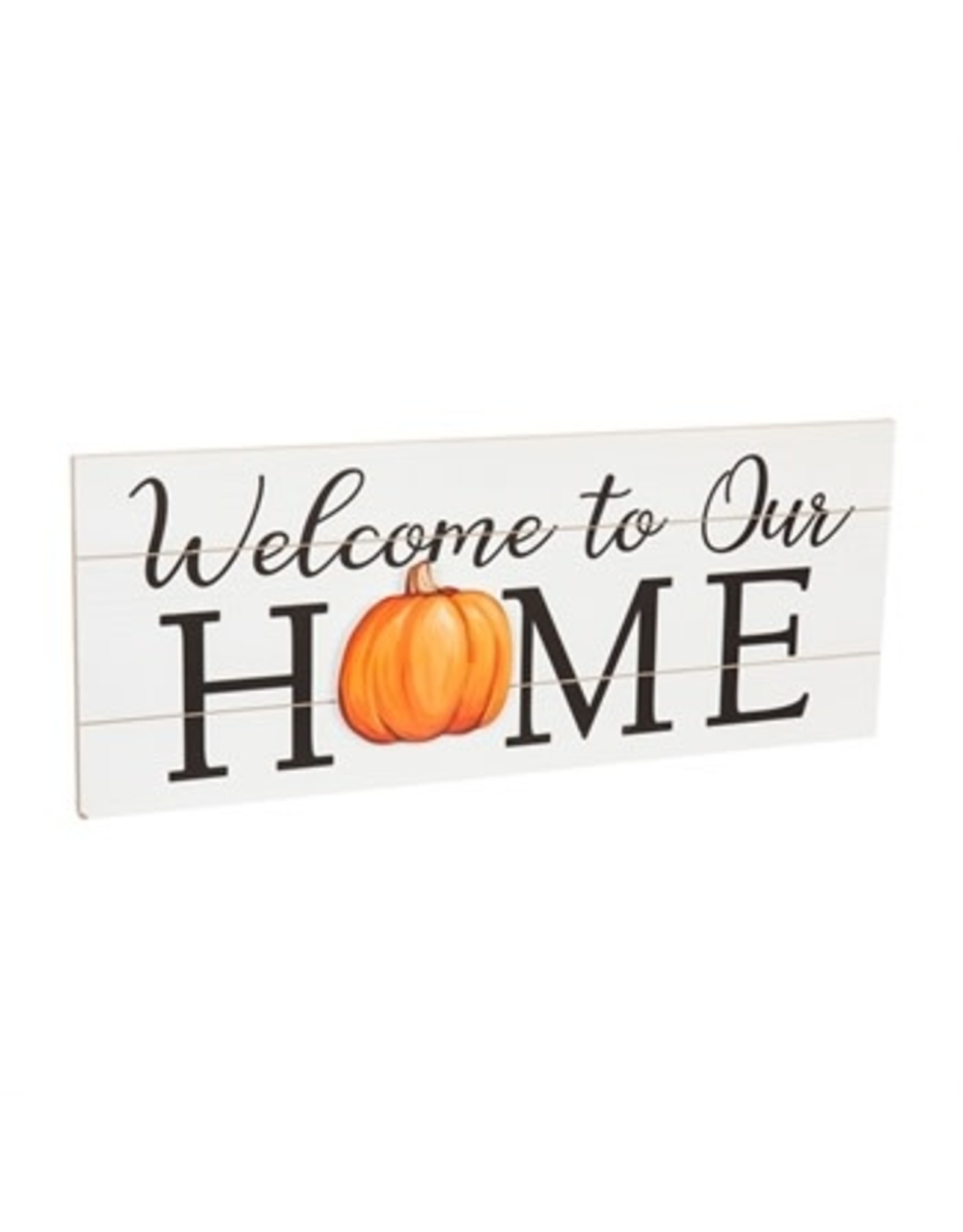 """Evergreen Sign- Interchangeable """"Welcome Home"""""""