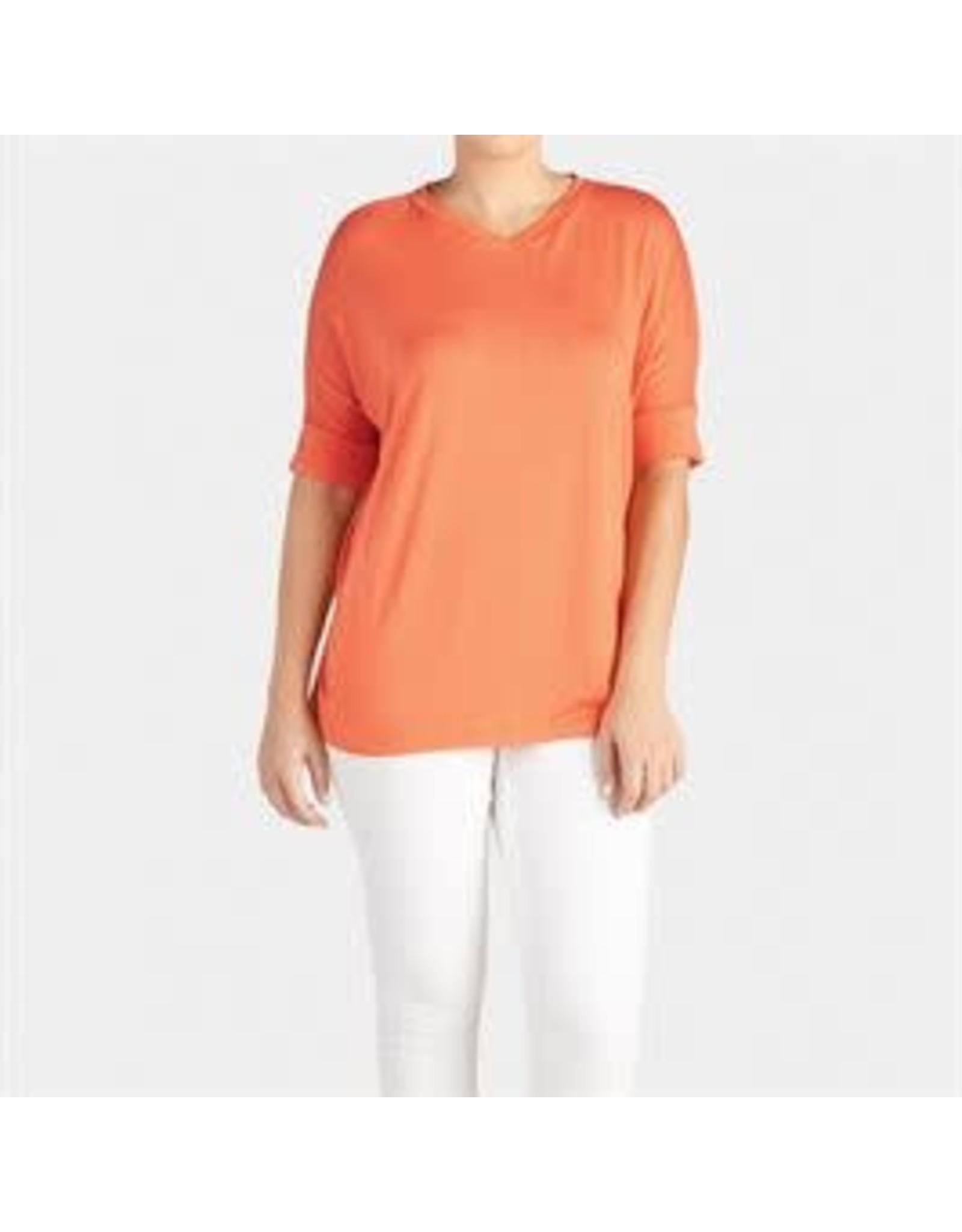 Tangerine Tunic V-Neck
