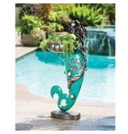 Mermaid Metal Staute