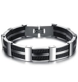 Freeship Wholesale B/L- Men Dark Stainless Steel
