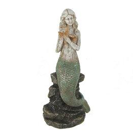 Mermaid Sitting on Rock Starfish 69292