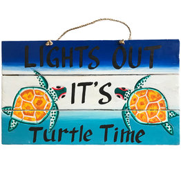 Wall- Turtle Time Light Out 10734