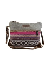 Cross Body- Laced Pink Small