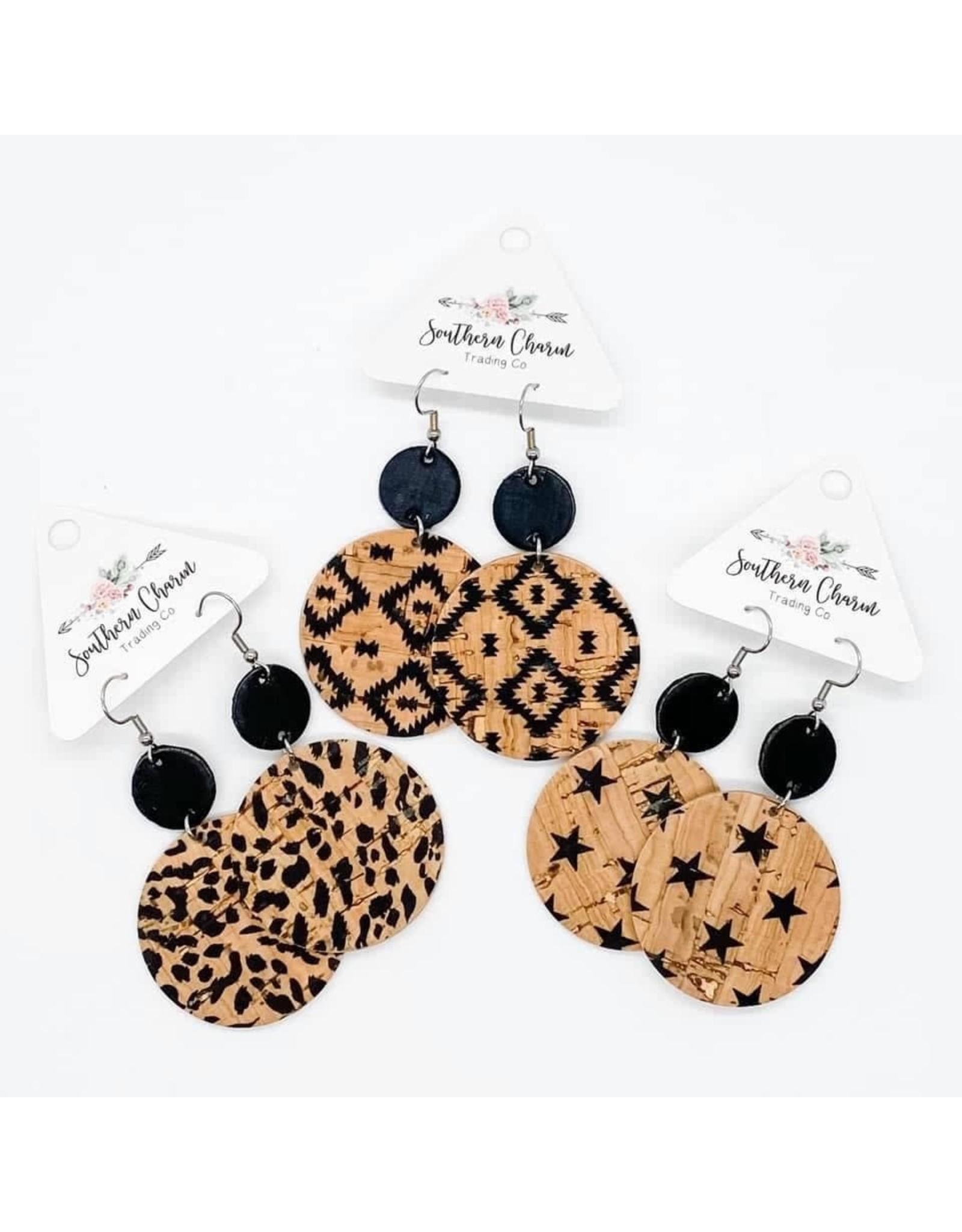 E/R- Black & Natural Piggy Leopard