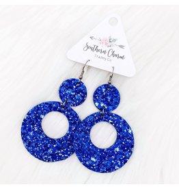 E/R- Glitter Double O's BLue