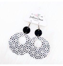 E/R- Black & White Abstract