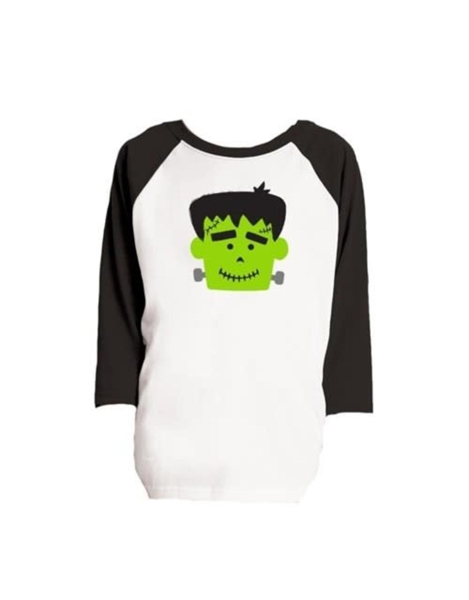 Kid's Frankenstein Raglan