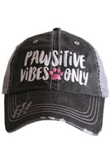 Katydid Hat- Pawsitive Vibes Only