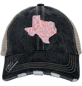 Katydid Hat- Texas Pink Leopard