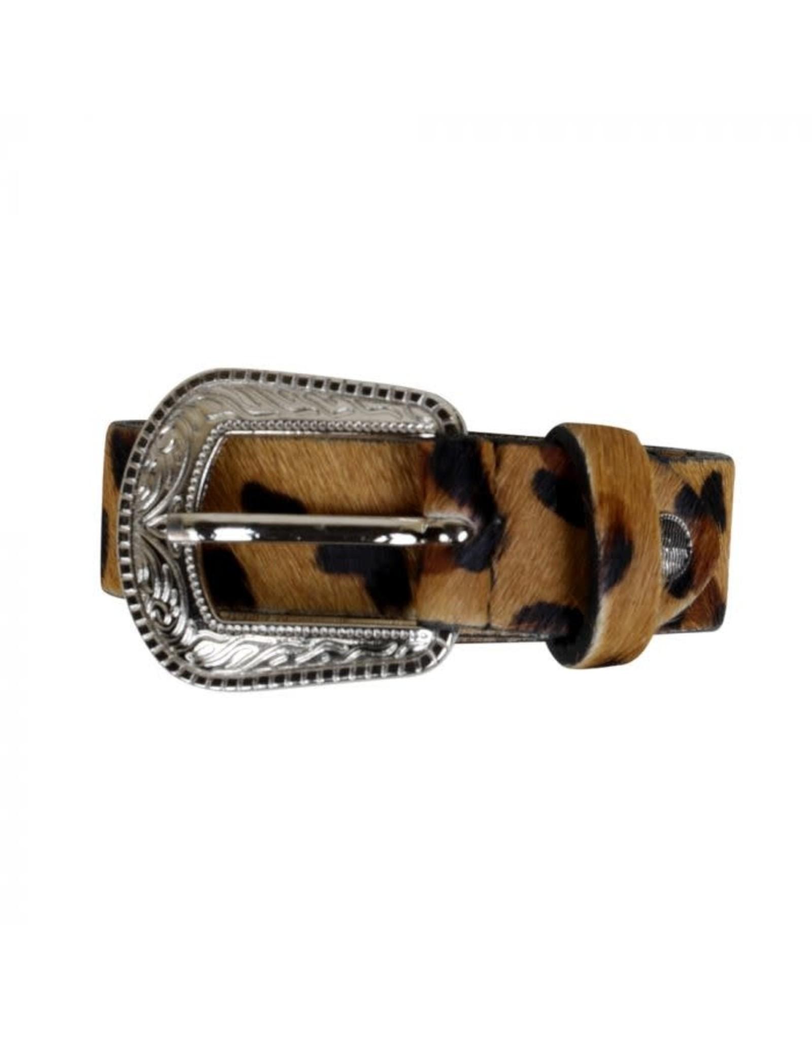 Leopard Hide Belt
