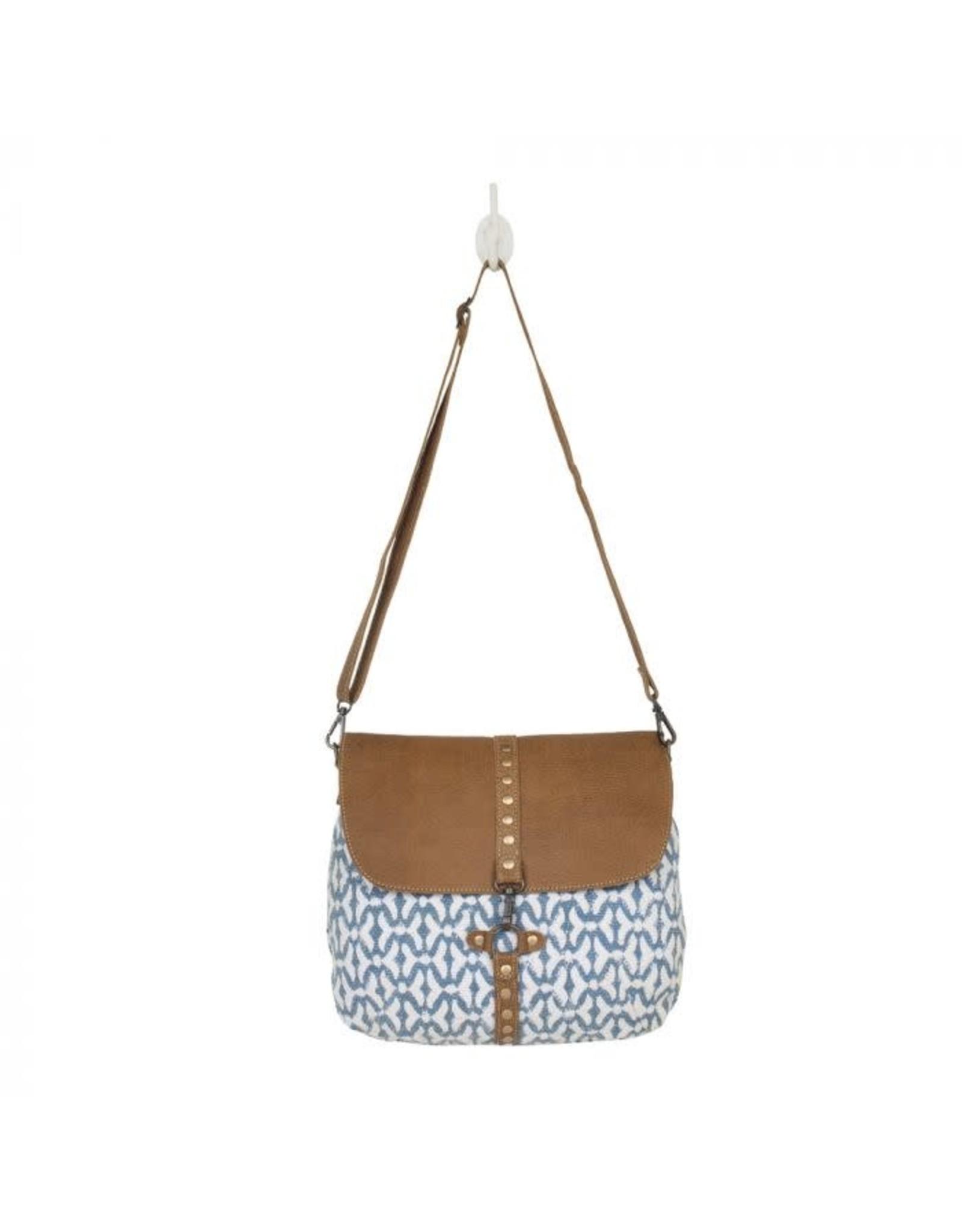 Bag- Balance Shoulder w/ blue