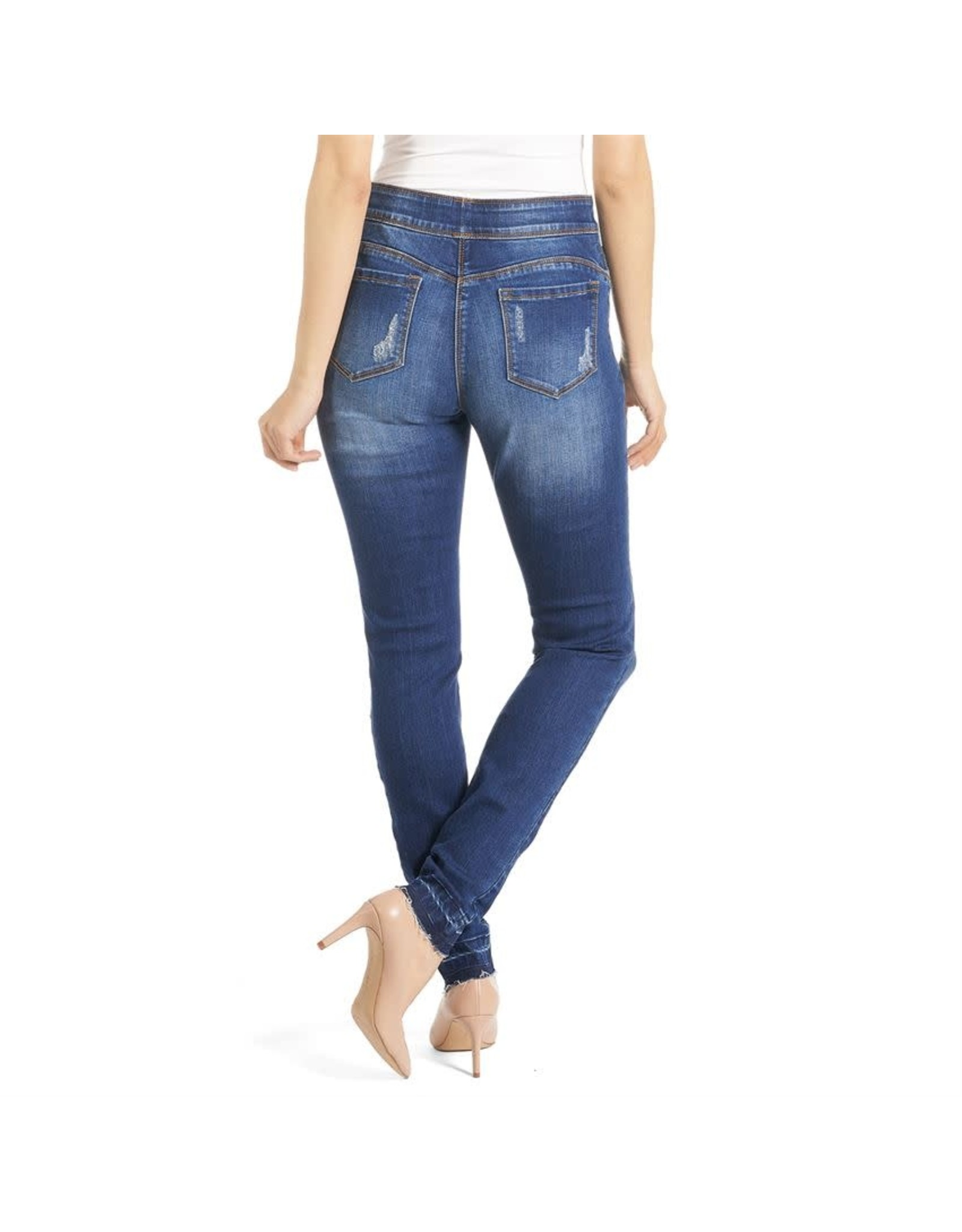 OMG Leopard Patchwork Jeans