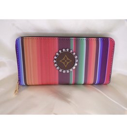 Lost Highway Customs Louis Vuitton Upcycled Serape Wallet