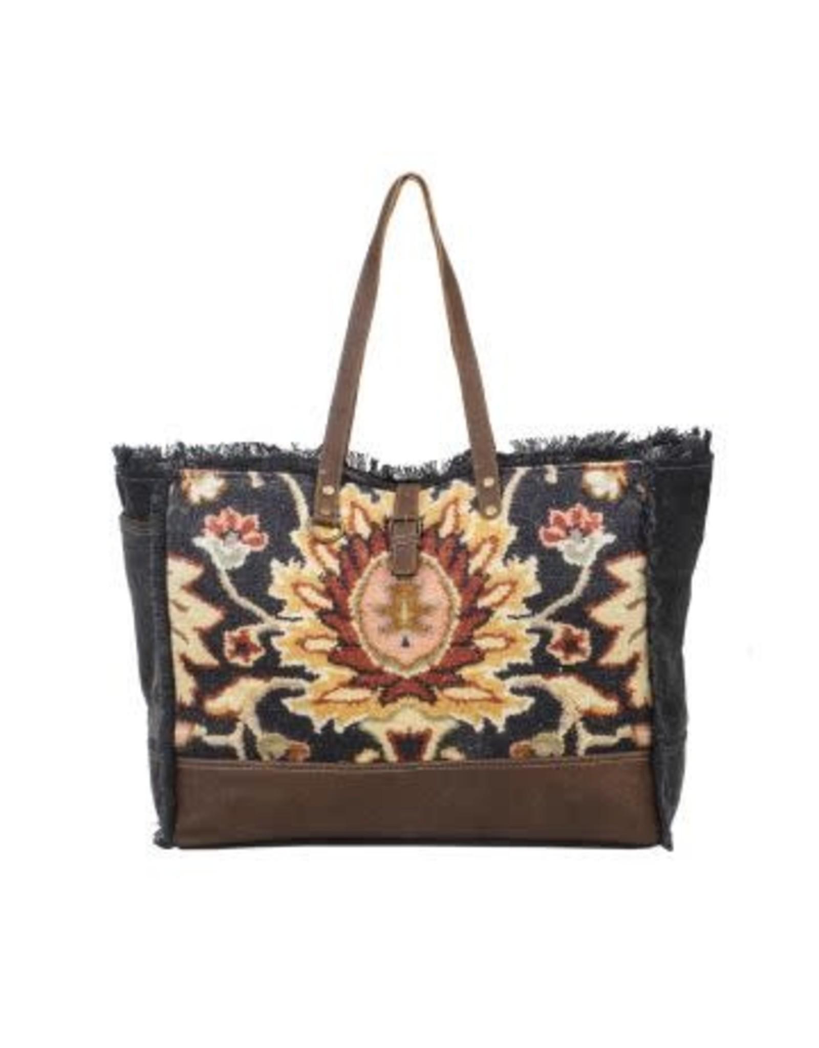 Weekender Bag- Black Fern