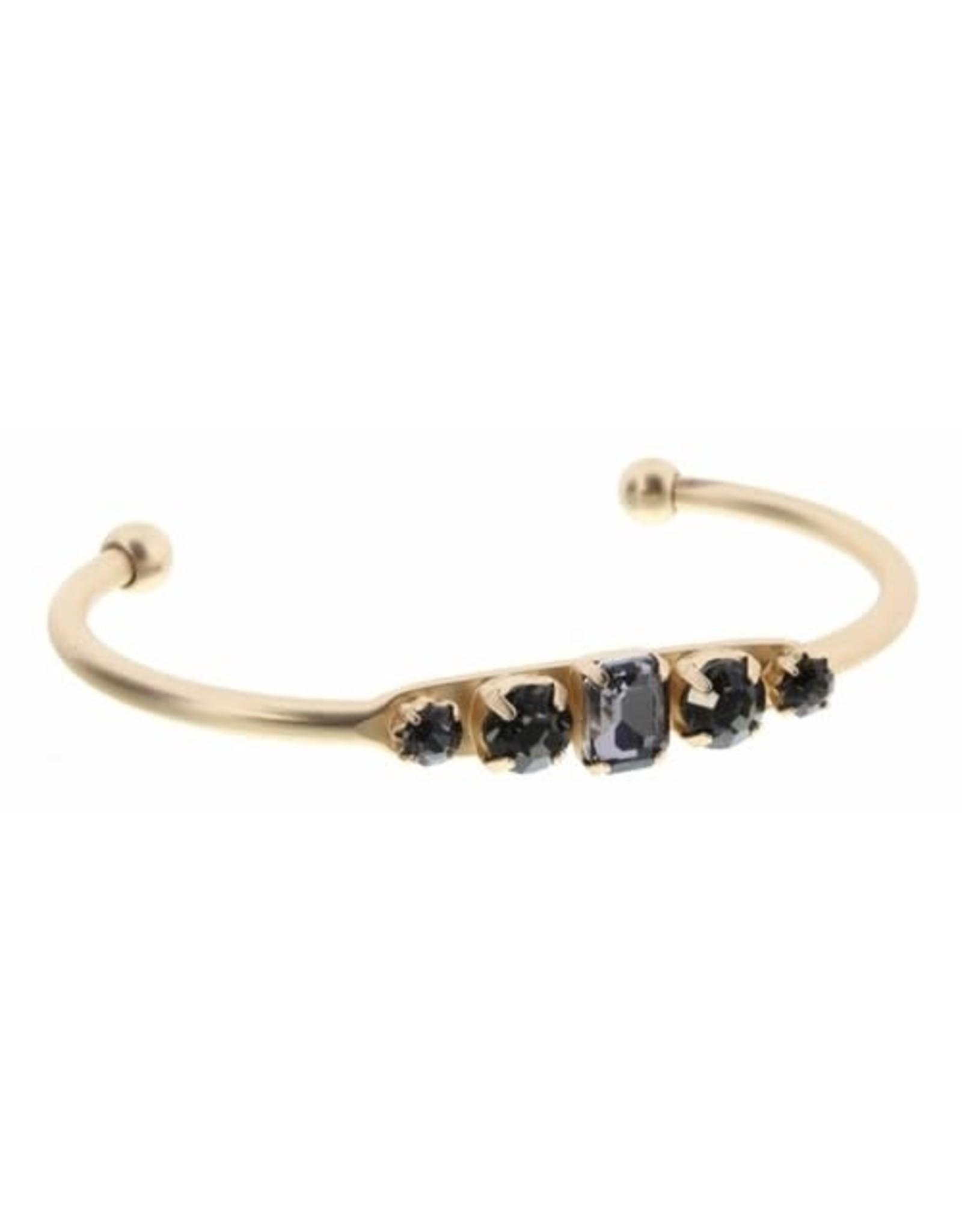 5 Smoke Crystals Bracelet