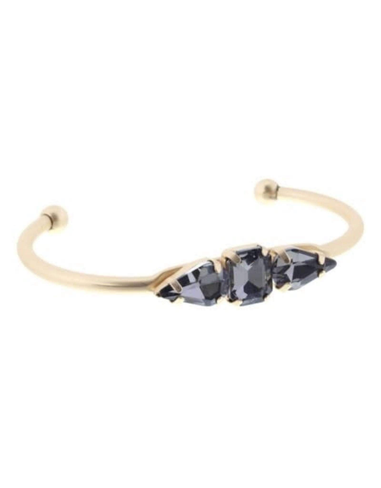 3 Smoke Crystals Bracelet