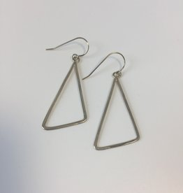 J&I Serling Silver Geometric Earring