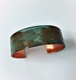 "SSD Jewelry 75"" Cuff Weathered Verdigris"