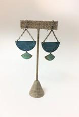SSD Jewelry Verdigris Midnight Pass Earrings