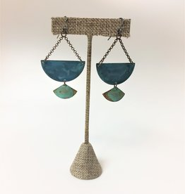 SSD Jewelry Verdigris Midnight Pass Earrings