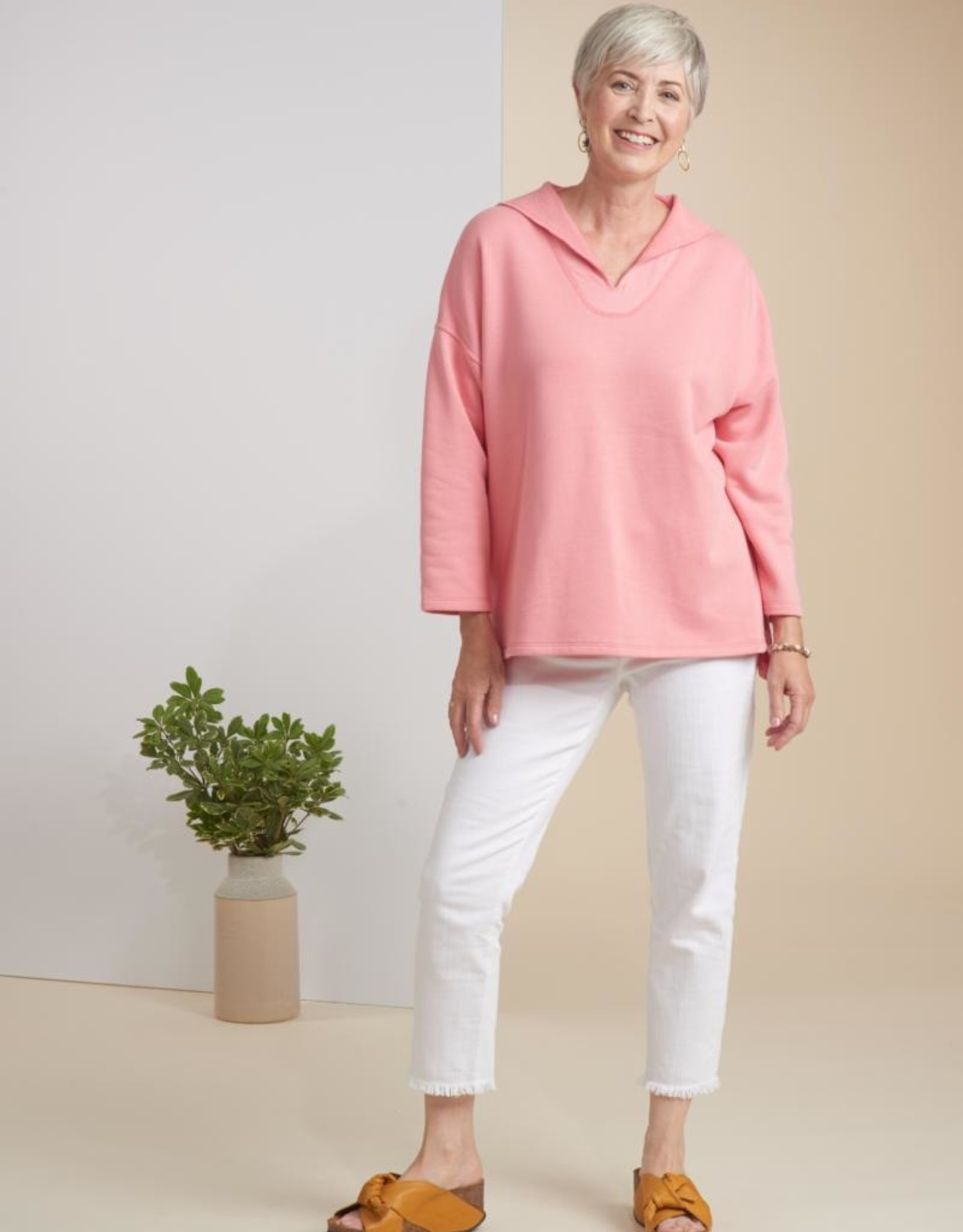 Habitat French Terrycloth Easy Pullover