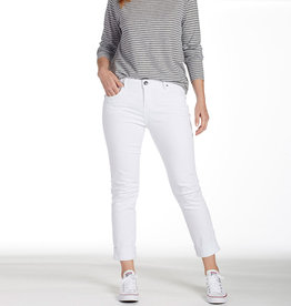 JAG Classic White Denim Girlfriend Jean