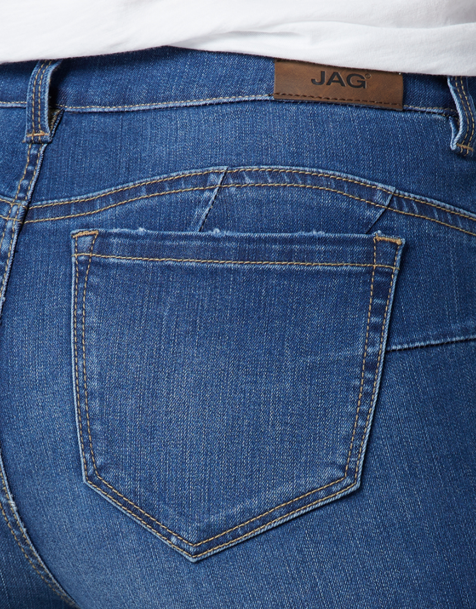 JAG High Rise Flat Front Skinny Jean