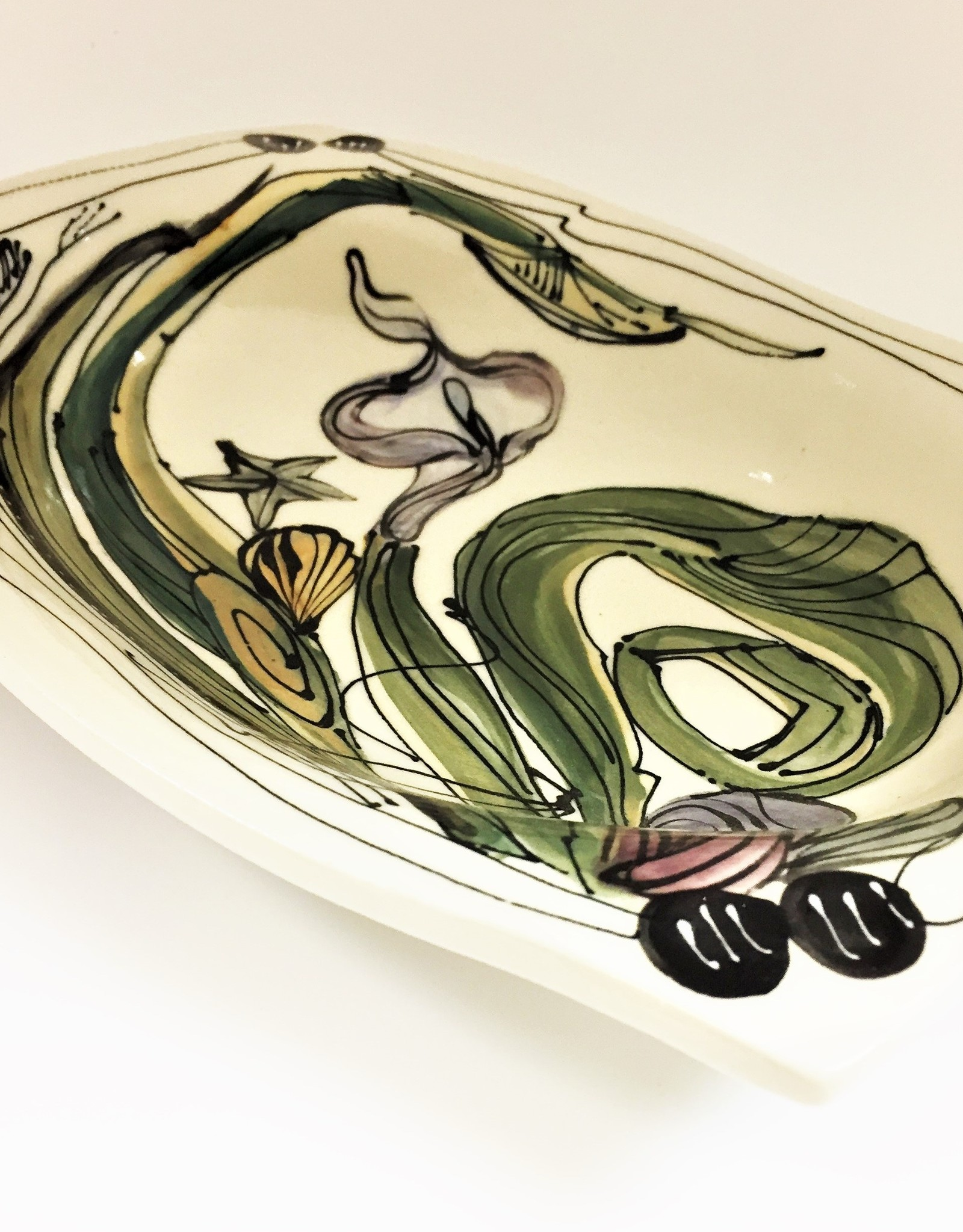 Clayborn Pottery Serving Bowl by Clayborne Pottery