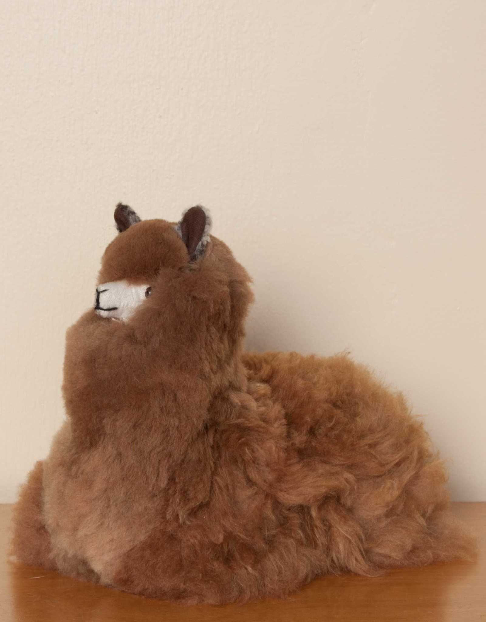 Simply Natural 100% Natural Sheared Alpaca Plush