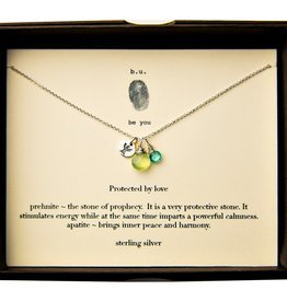 B. U. Protected by Love Sterling Necklace