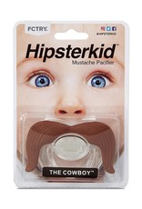 FCTRY Hipsterkid Mustache Pacifier