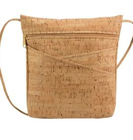 Natalie Therese Be Lively 3 Cork Criss-Crossbody Bag
