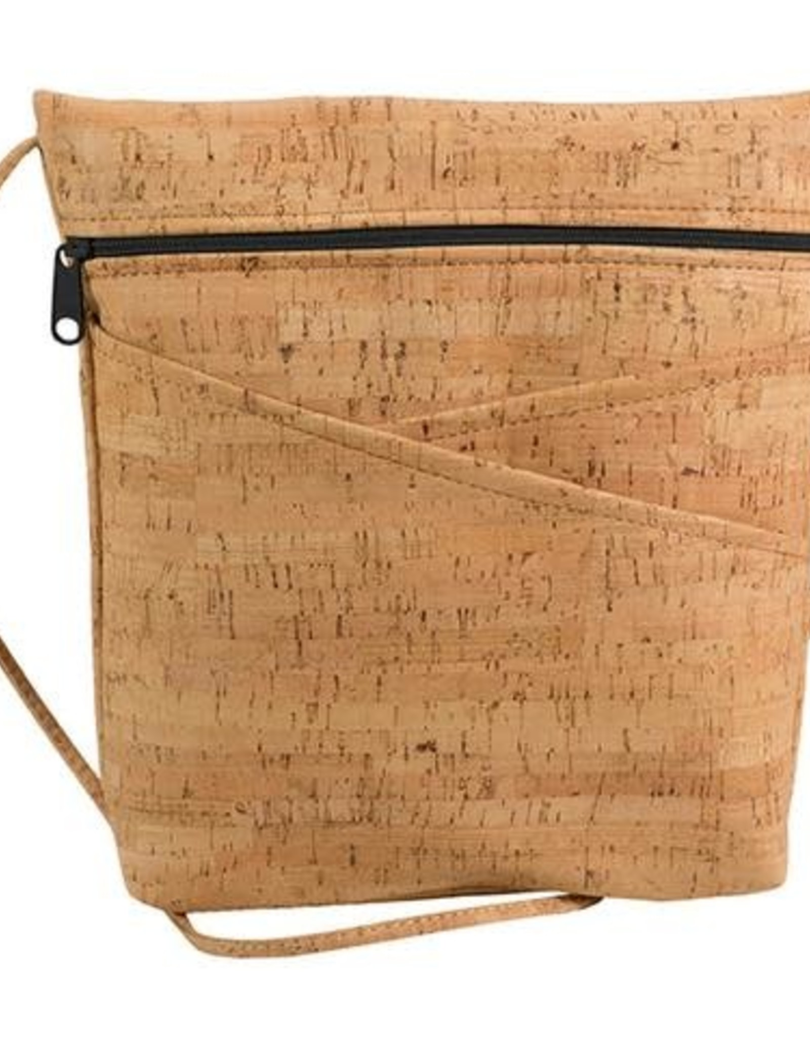 Natalie Therese Lively 3 Cork Criss-Crossbody Bag