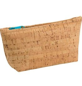 Natalie Therese Cork Zip Pouch
