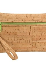 Natalie Therese Be Ready Cork Wristlet