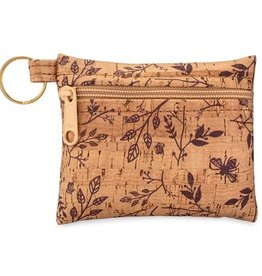 Natalie Therese Be Organized Cork Keychain/Wallet
