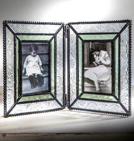 J Devlin Green Double Opening Frame